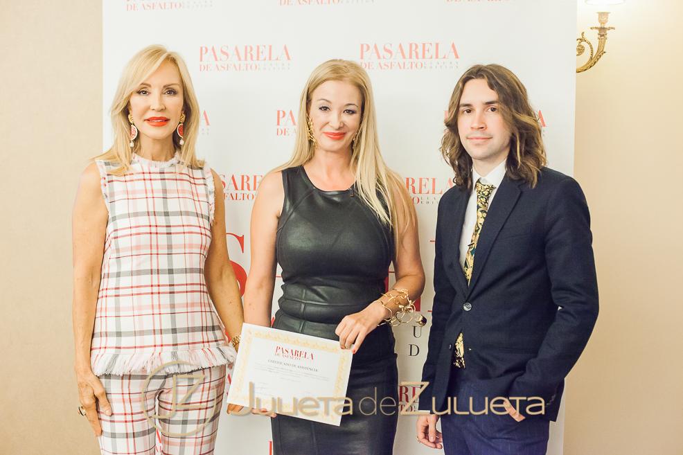Pasarela Española en la Master Class de Carmen Lomana