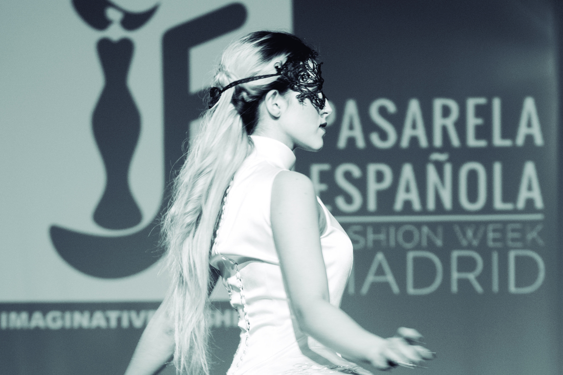 Elizabeth Mosler en Pasarela Española